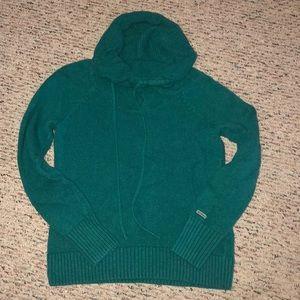Tea/green Columbia sweater top